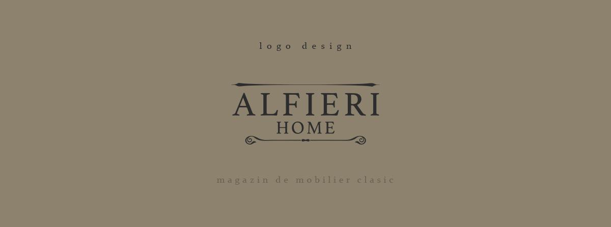 alfieri logo design - Alfieri Home