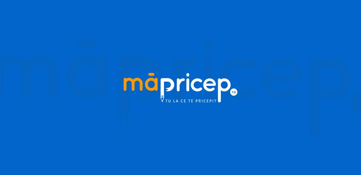 ma pricep logo design - MaPricep