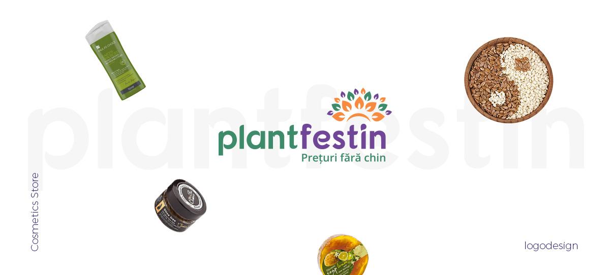 plantfestin logo design - Plant Festin
