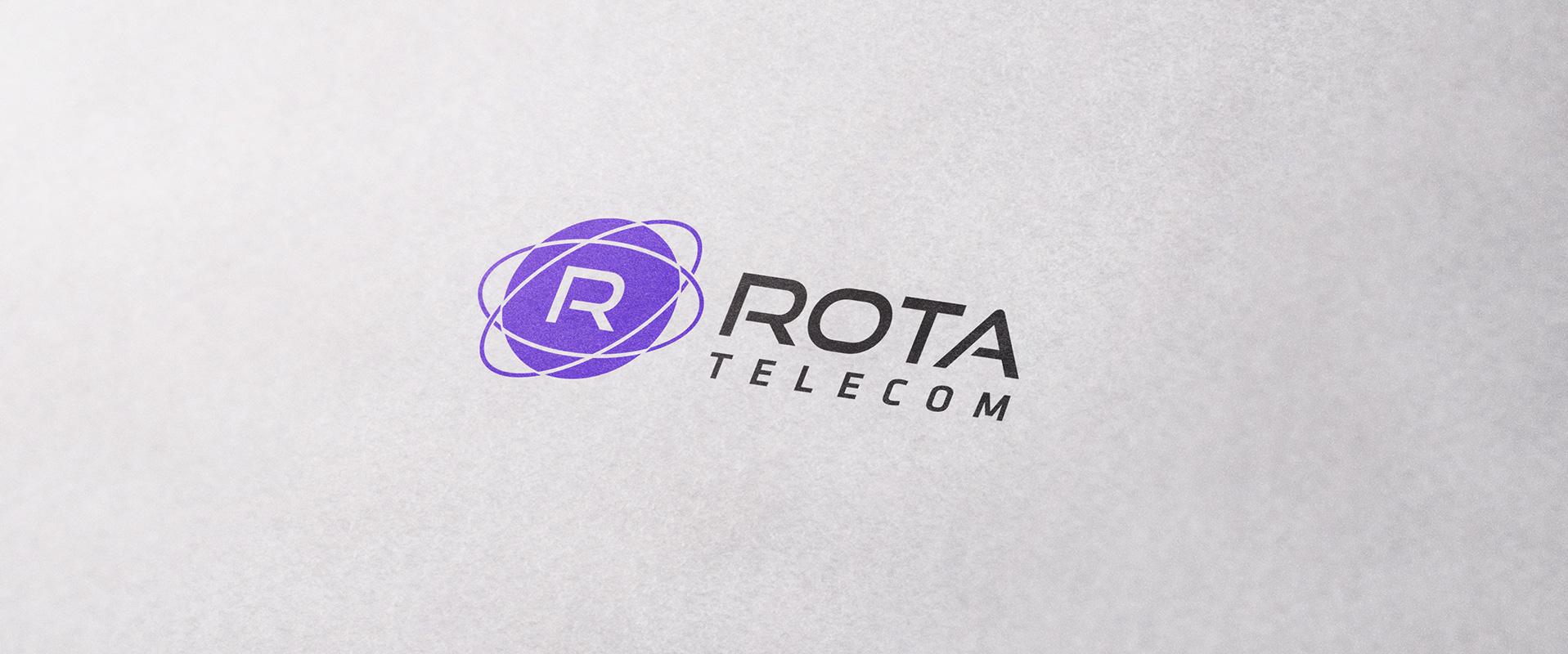 rota telecom logo design - ROTA Telecom