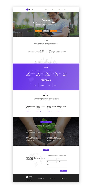 rota telecom web2 - ROTA Telecom