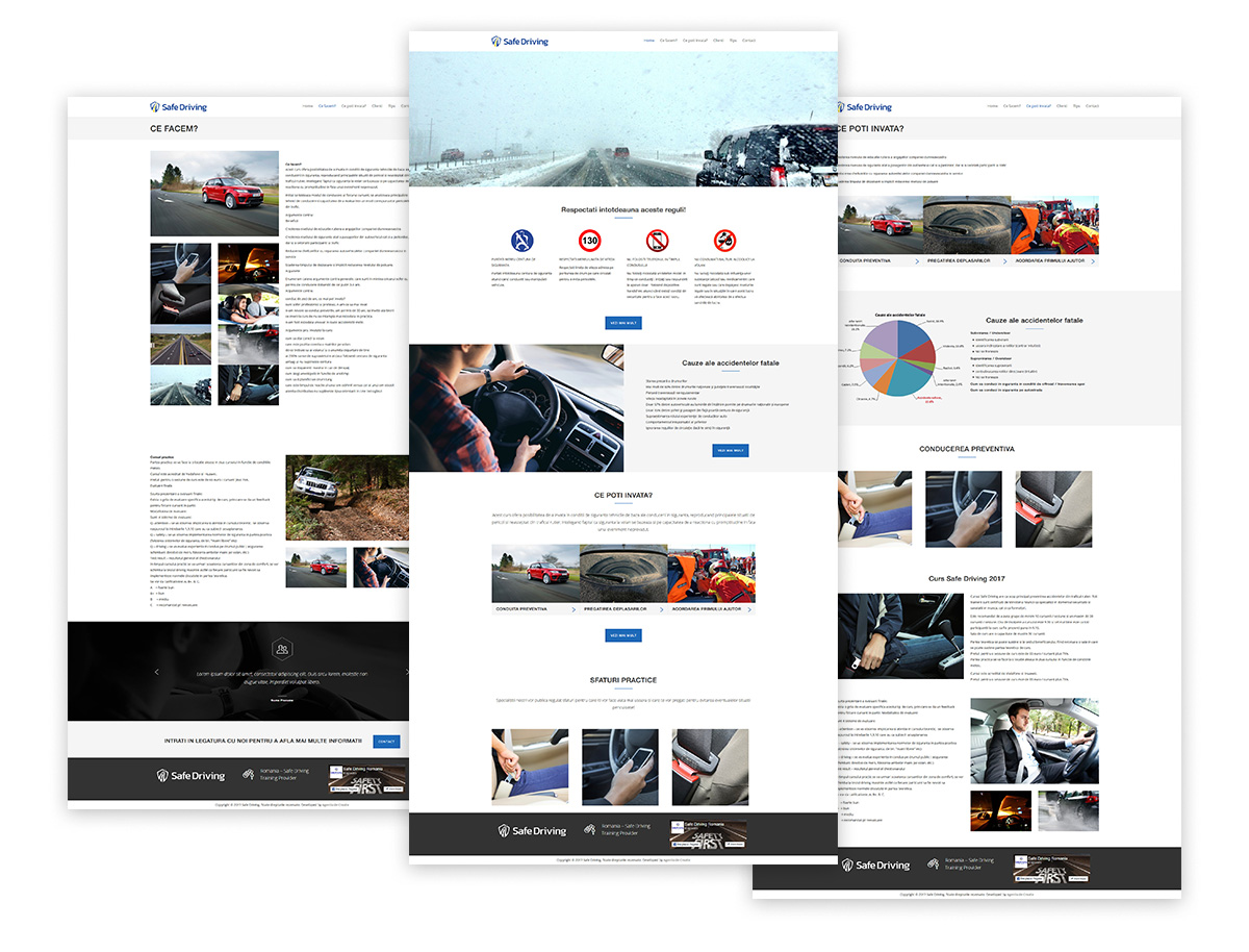 safe driving web2 - Safe Driving