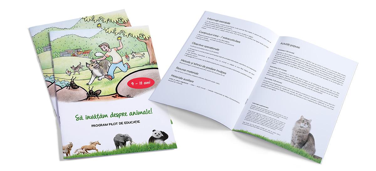 sida brosura - Sa invatam despre animale