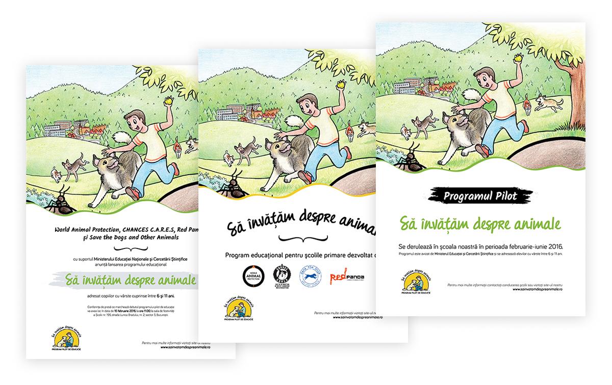 sida poster2 - Sa invatam despre animale