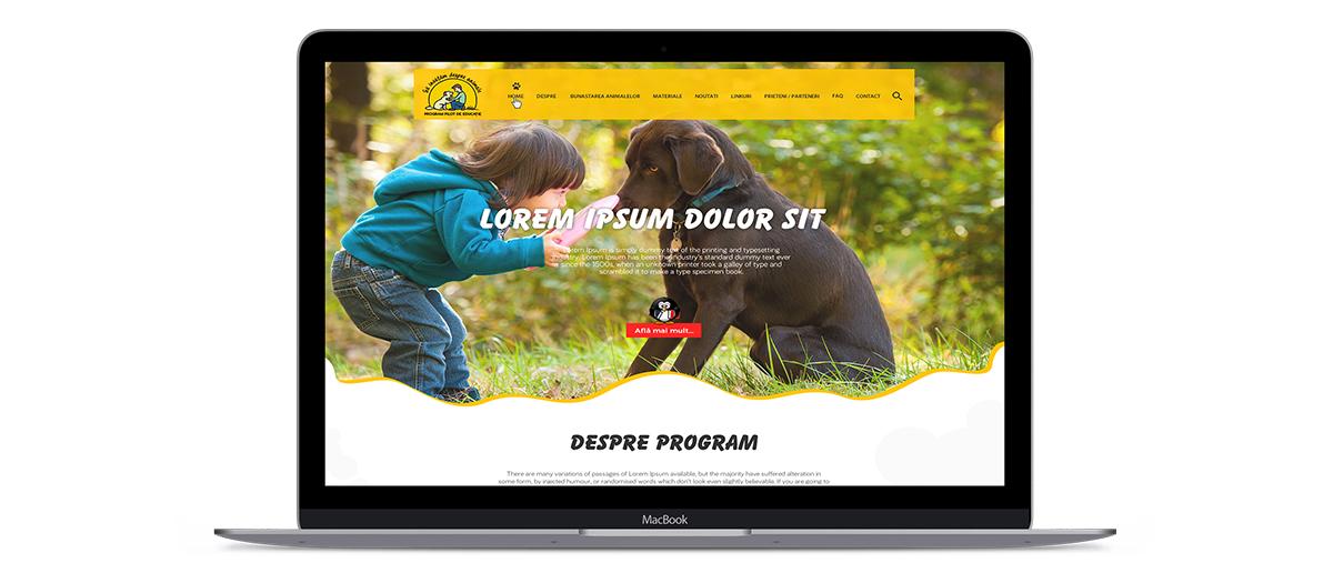 sida web - Sa invatam despre animale