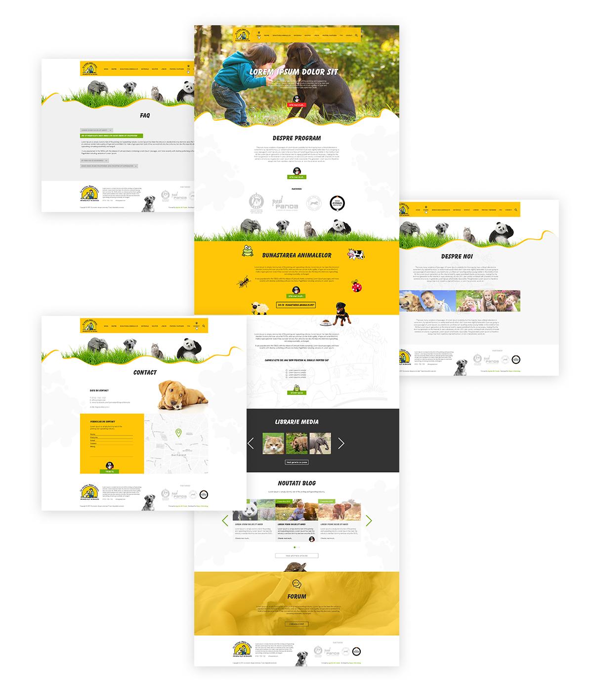sida web2 - Sa invatam despre animale